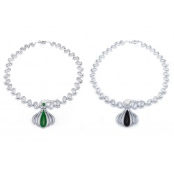 Jade Set 3 Necklace